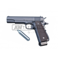 Пистолет WE 1911 Big Magazine CO2 Gun