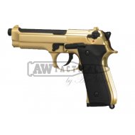 Пистолет WE M92S Gold/Black GBB