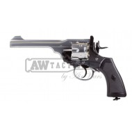 Револьвер Win-Gun Webley Mark VI CO2 (Silver ver.)