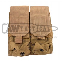 Подсумок Eagle Industries M4 Double Mag Pouch (khaki) страйкбольный
