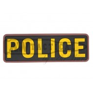 "Патч Emerson PVC Patch""POLICE""-YELLOW"
