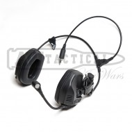 Наушники FMA активные RAC Tactical Headphones BK