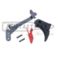 Набор Guarder Smooth Trigger & Lever Group For MAURI G17/22/26/34 (Black/Red)