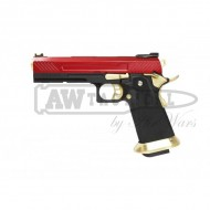 Пистолет AW Custom HX11 Hi-Capa Competition Grade Gas Blowback - Red страйкбольный