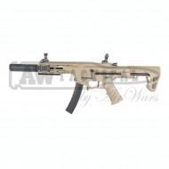 Автомат King Arms PDW 9mm SBR SD -Dark Earth