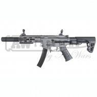 Автомат King Arms PDW 9mm SBR SD -Gun Metal Grey