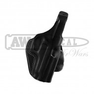 Кобура Galco Unlined Paddle Gun Holster for Glock 17, Right (black)