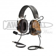 Наушники Peltor активные Comtac III Dualcomm ACH kit (coyote brown)