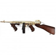 Автомат King Arms Thompson M1928 Chicago Gold страйкбольный