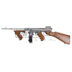Автомат King Arms Thompson M1928 Chicago Silver страйкбольный