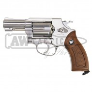 Револьвер Win-Gun Sheriff M36 CO2 2.5 дюйма Silver