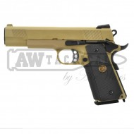 Пистолет WE Colt M1911 M.E.U. (dark earth)