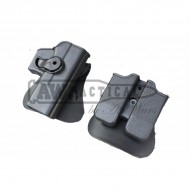 Кобура Wii Waist Holster for Glock 17 GBB (черная)