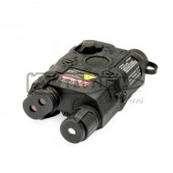 ЛЦУ BattleAxe PEQ15 Red Laser Sight (черный)
