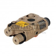 ЛЦУ BattleAxe PEQ15 Red Laser Sight (песочный)
