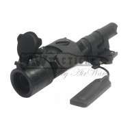 Лазер FMA Tactical glare mount visible Laser BK