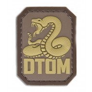 Шеврон Mil-Spec Monkey PVC Patch - DTOM (Desert)