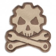 Шеврон Mil-Spec Monkey Patch - Death Mechanic (Desert)