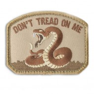 Шеврон Mil-Spec Monkey Patch - Don't Tread On Me (Desert)