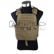 Жилет TMC разгрузочный Cage Cherry Plate Carrier (Coyote Brown)