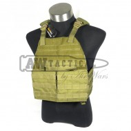 Жилет TMC разгрузочный Lightweight Plate Carrier ( Khaki )
