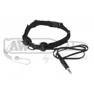 Гарнитура SkyTac ларингофон Tactical Throat Mic (black)